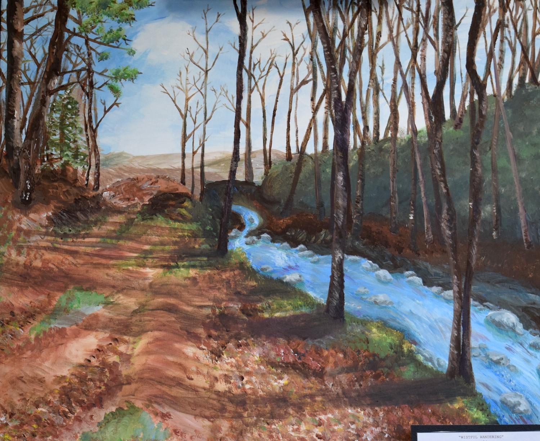 Wistful Wandering by Hanna Bogart