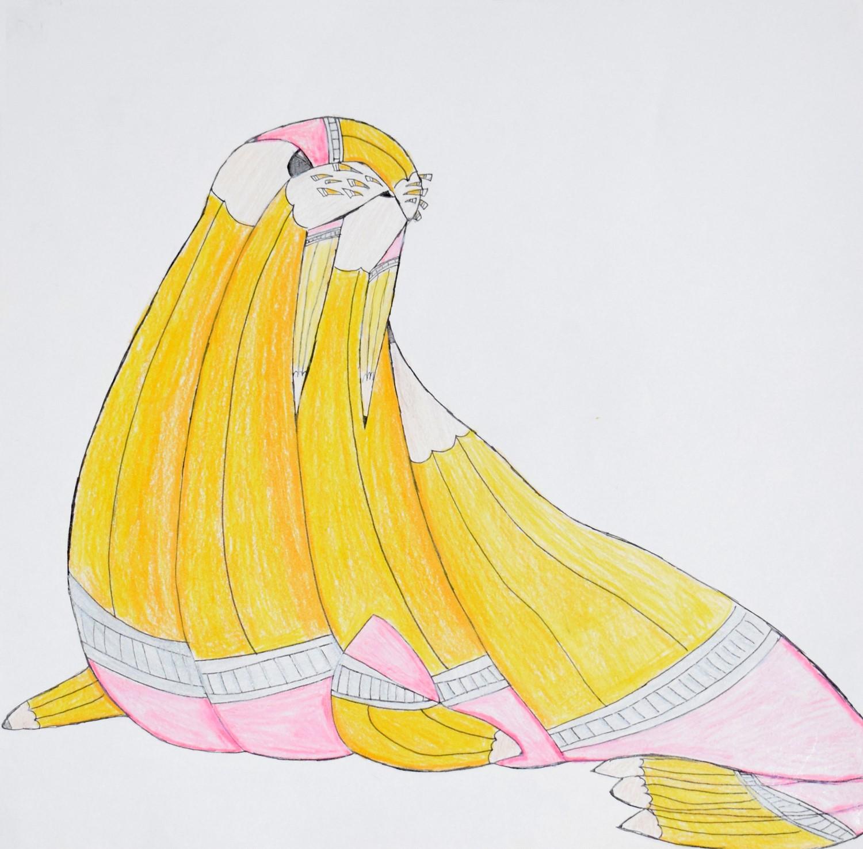 Pencil Walrus by Alyssa Starr