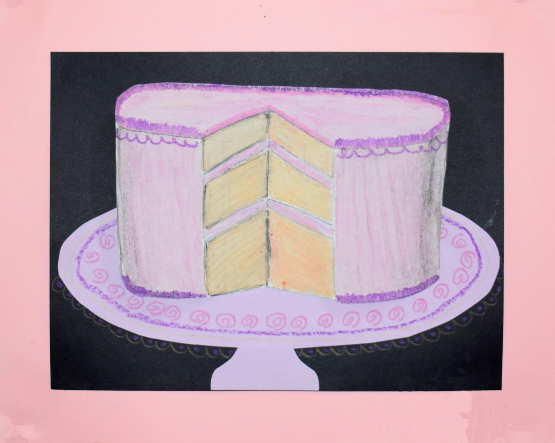 Pink Cake by Maryka Bleir